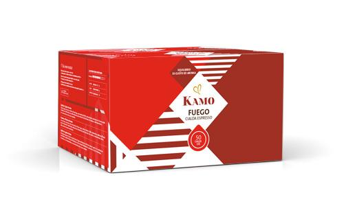 confezione cialde caffè Kamo Fuego
