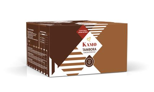 confezione cialde caffè Kamo Tambora